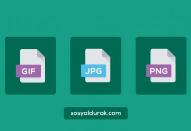 JPG, GIF ve PNG Karşılaştırması